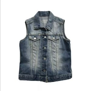 Gap 1969 Denim Jean Vest